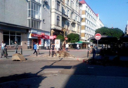 На вулиці Вагилевича розпочалися ремонтні роботи (ФОТО) (фото) - фото 4