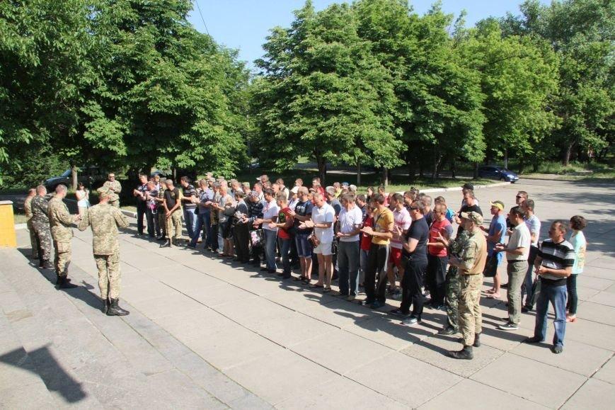 Раненые под Иловайском бойцы «Кривбасса» получили удостоверения участника боевых действий (ФОТО), фото-4