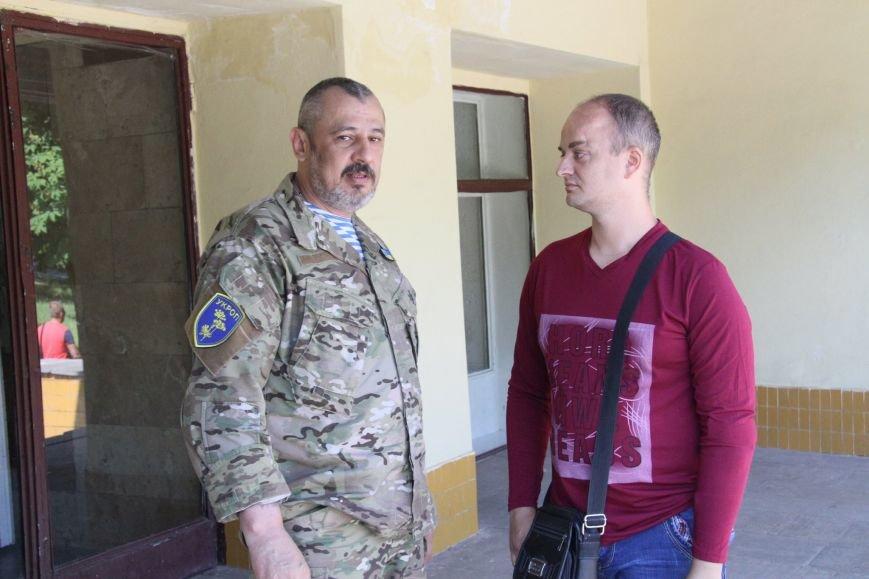 Раненые под Иловайском бойцы «Кривбасса» получили удостоверения участника боевых действий (ФОТО), фото-7