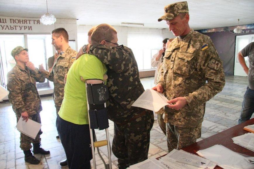 Раненые под Иловайском бойцы «Кривбасса» получили удостоверения участника боевых действий (ФОТО), фото-5