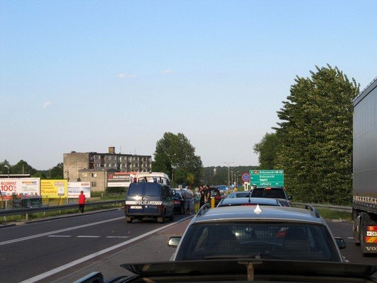 Конфликт на КПП «Бобровники-Берестовица»: польские полицейские применили газовые баллончики (фото) - фото 4