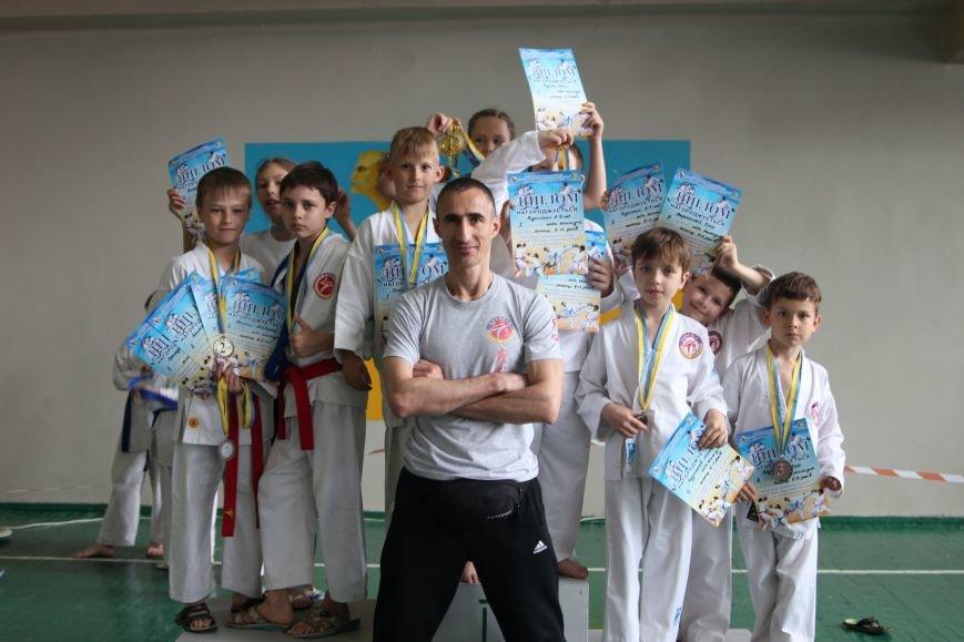 Бердянские спортсмены отлично выступили на Открытом чемпионате, фото-1