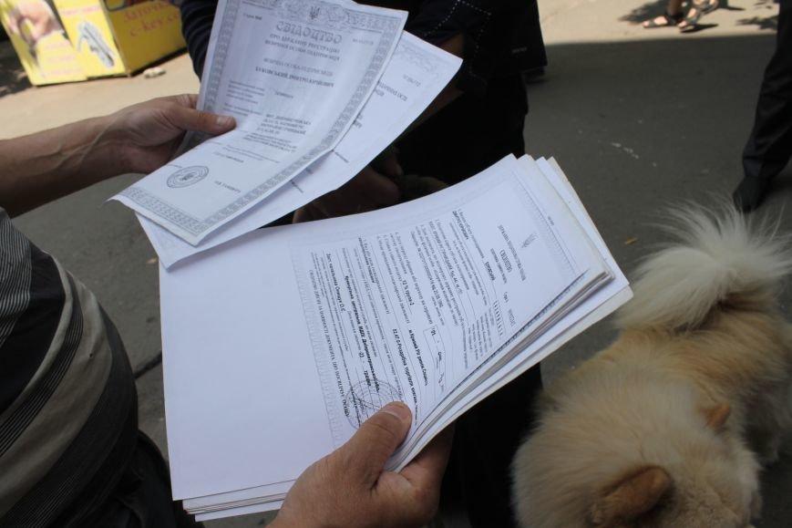 В Кривом Роге на крытом рынке милиция выявила нарушителя правил торговли и конфисковала товар (ФОТО), фото-7