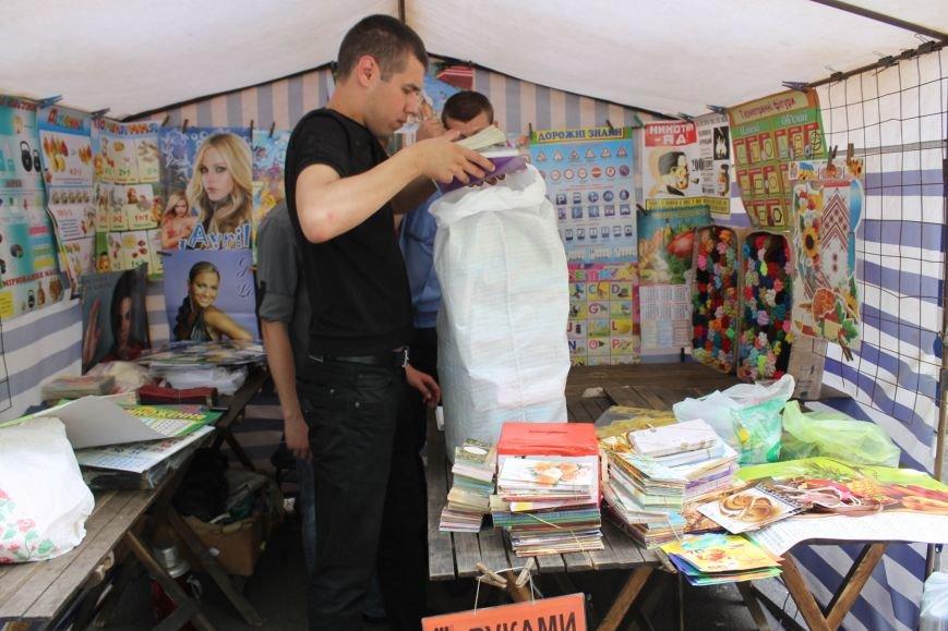 В Кривом Роге на крытом рынке милиция выявила нарушителя правил торговли и конфисковала товар (ФОТО), фото-10