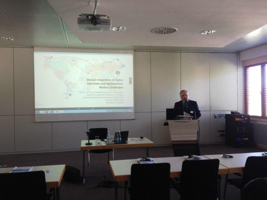 Делегація СНАУ перебуває в університеті Хохенхайм в Німеччині (ФОТО) (фото) - фото 1