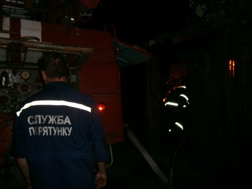 Ночной пожар в Димитрове: на месте возгорания работают Димитровские и Красноармейские спасатели (ОБНОВЛЯЕТСЯ) (фото) - фото 12