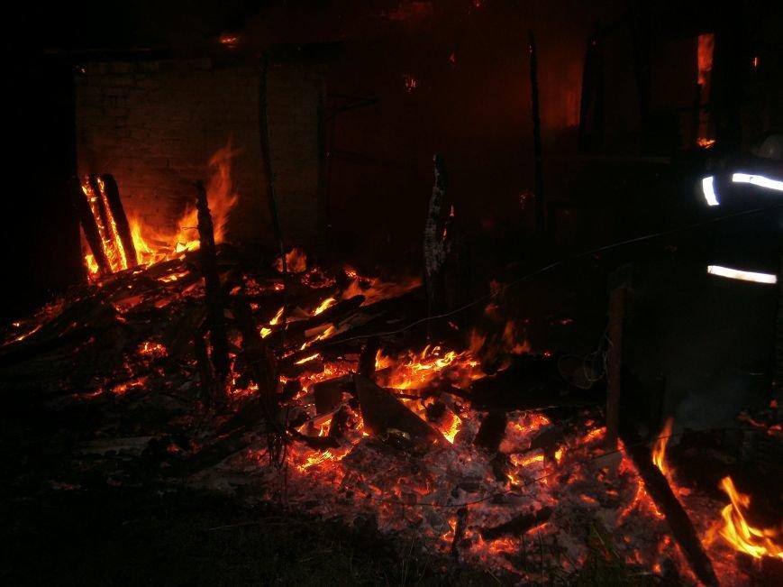 Ночной пожар в Димитрове: на месте возгорания работают Димитровские и Красноармейские спасатели (ОБНОВЛЯЕТСЯ) (фото) - фото 9