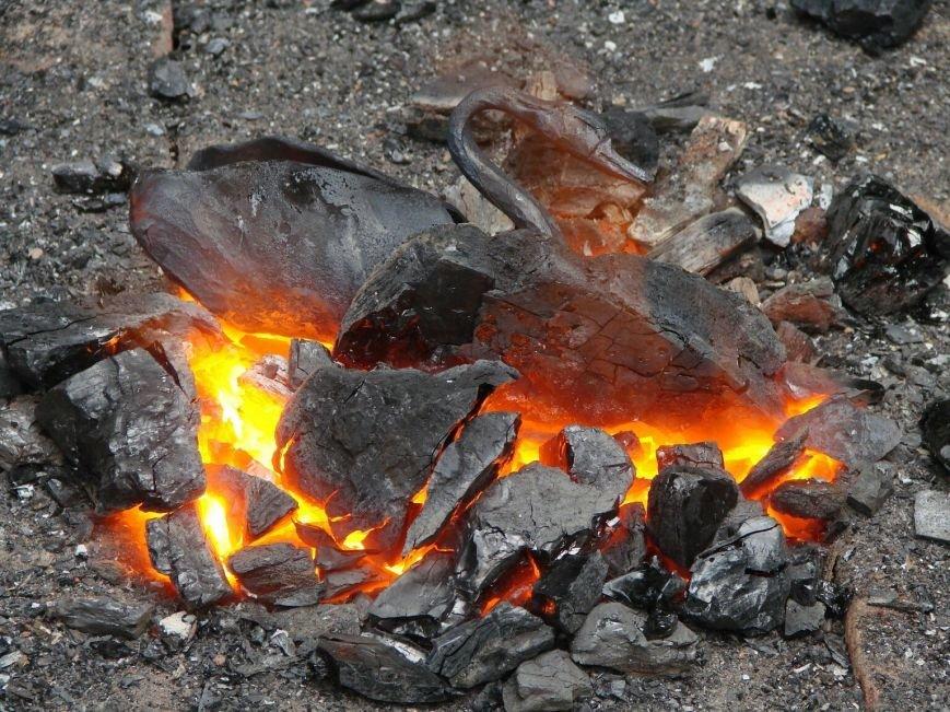 В Дубовой роще Запорожья выковали «гадкого утенка» (фото) - фото 1
