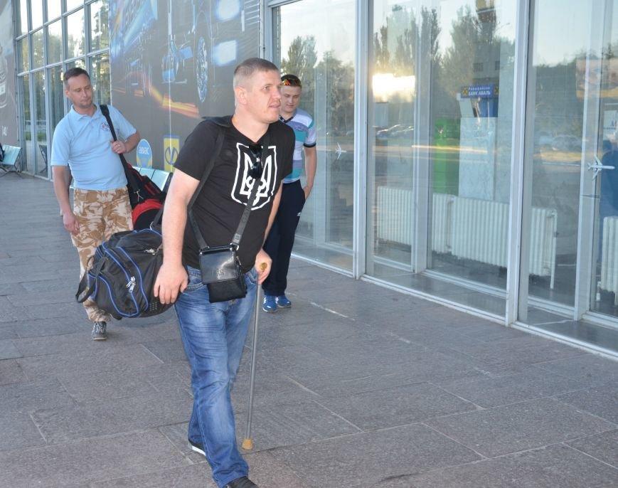 На реабилитацию в Литву отправились трое бойцов АТО с Днепропетровщины, фото-1