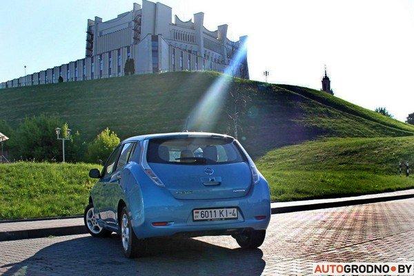 Гродненский водитель электроавтомобиля: за 100 км я плачу 12 тысяч рублей (фото) - фото 4