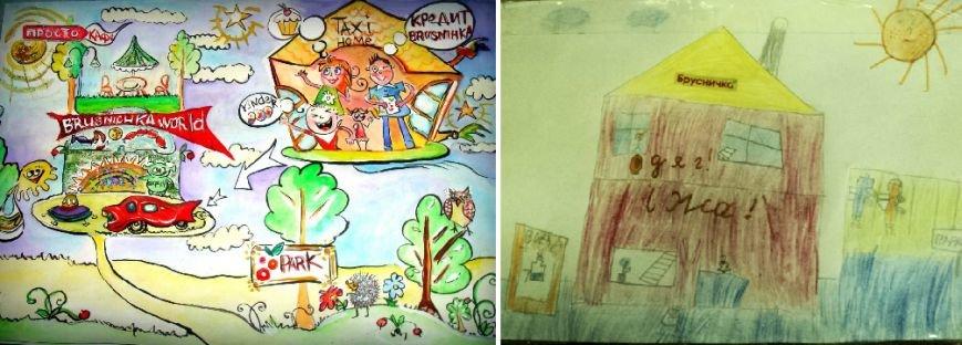 Дети предложили сети «Брусничка» открыть службу такси и парк аттракционов (фото) - фото 5