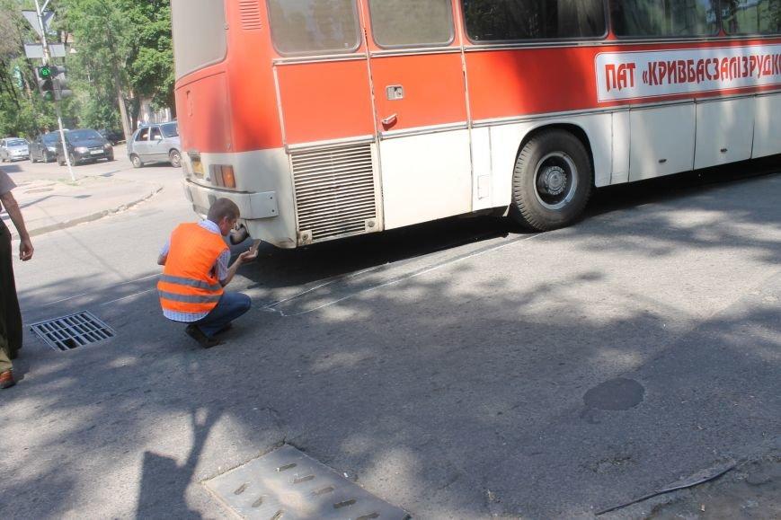 В Кривом Роге внедорожник врезался в автобус. Есть пострадавшие  (ФОТО), фото-21