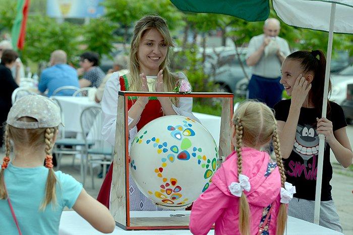 Перезагрузка. Торговый дом «Речицкий» стал большой игровой зоной для детей, фото-1