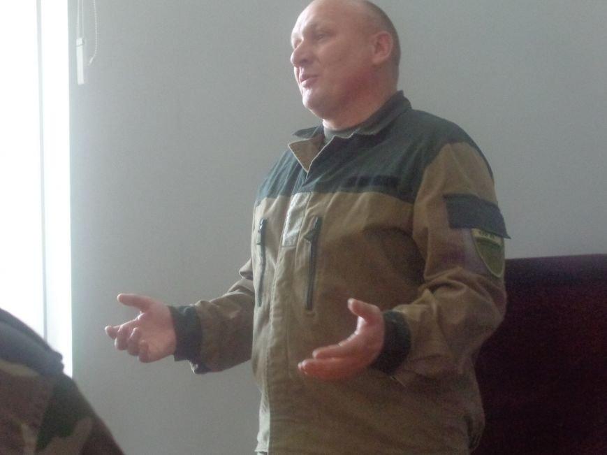 «Победа будет за нами»: ДонНТУ Красноармейска посетил добровольческий батальон «ОУН» (фото) - фото 3