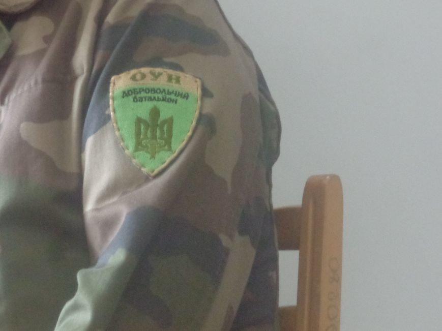 «Победа будет за нами»: ДонНТУ Красноармейска посетил добровольческий батальон «ОУН» (фото) - фото 5