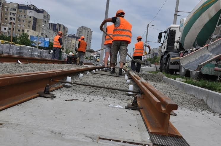 Як у Львові прокладають трамвайну колію на Сихів (ФОТО) (фото) - фото 1