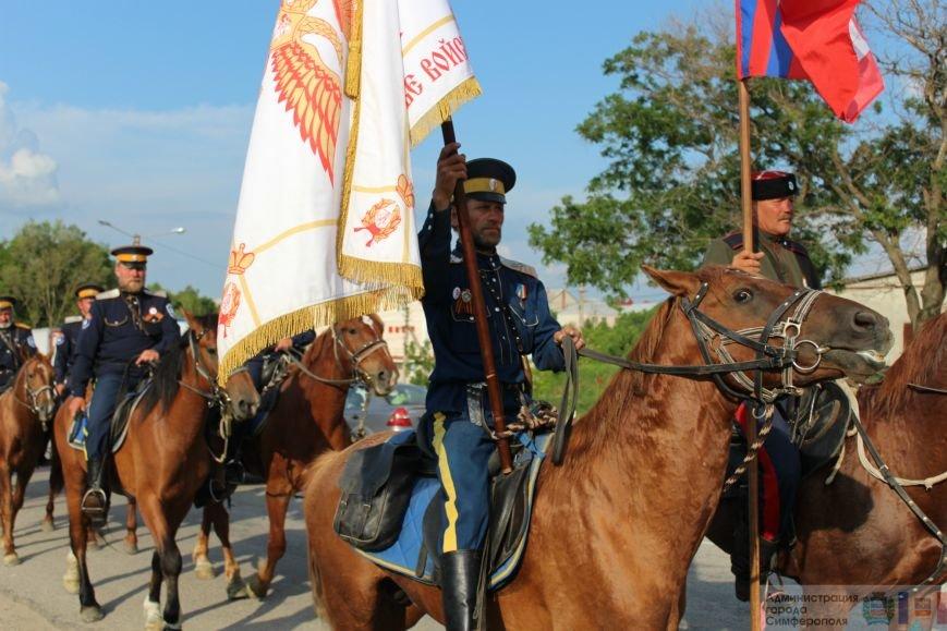 В Симферополь на конях прибыли казаки Юга России (ФОТО) (фото) - фото 2