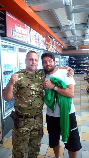 Футболісти  «Карпат» зустрілися із львівськими правоохоронцями, які захищають країну на передовій (ФОТОРЕПОРТАЖ) (фото) - фото 1