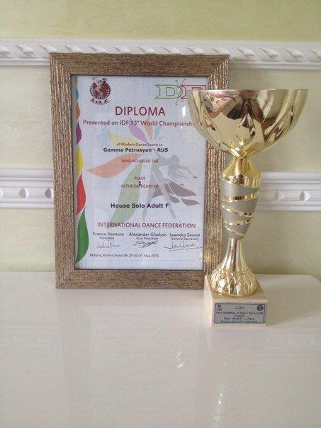 Крымчанка стала чемпионкой мира по современным спортивным танцам (ФОТО), фото-3
