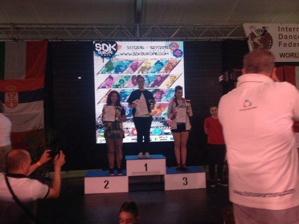 Крымчанка стала чемпионкой мира по современным спортивным танцам (ФОТО), фото-2