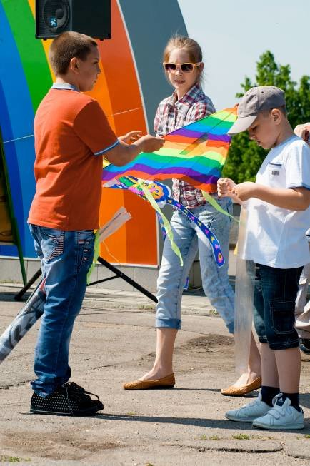 Бердянцы участвовали в Фестивале воздушных змеев (фото) - фото 1