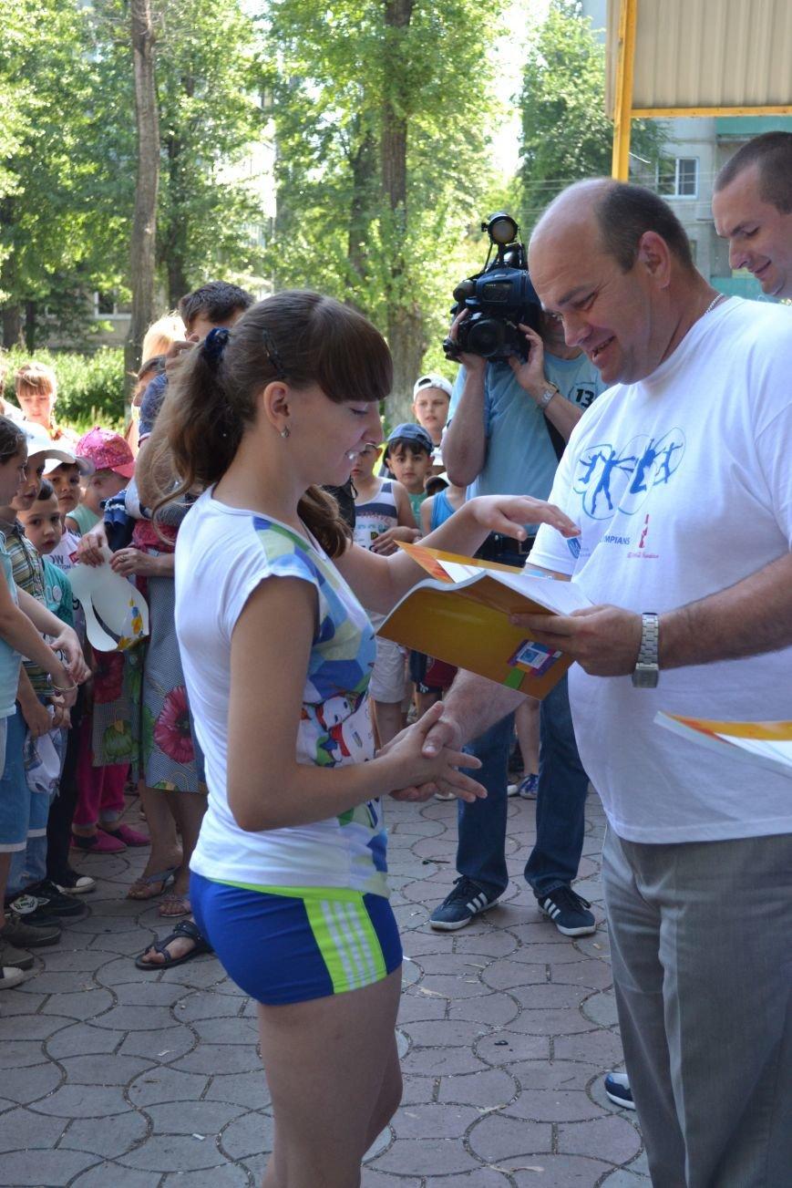 В Красноармейске прошел День олимпийского бега, фото-16