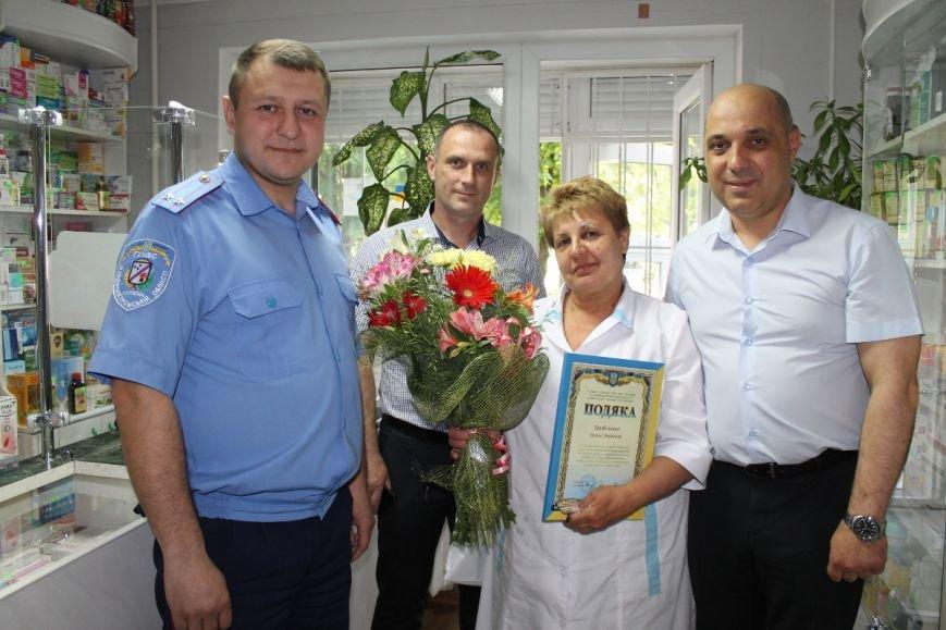 Криворожанка получила благодарность от руководства городской милиции за помощь в поимке грабителя (ФОТО), фото-2