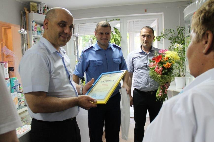 Криворожанка получила благодарность от руководства городской милиции за помощь в поимке грабителя (ФОТО), фото-1