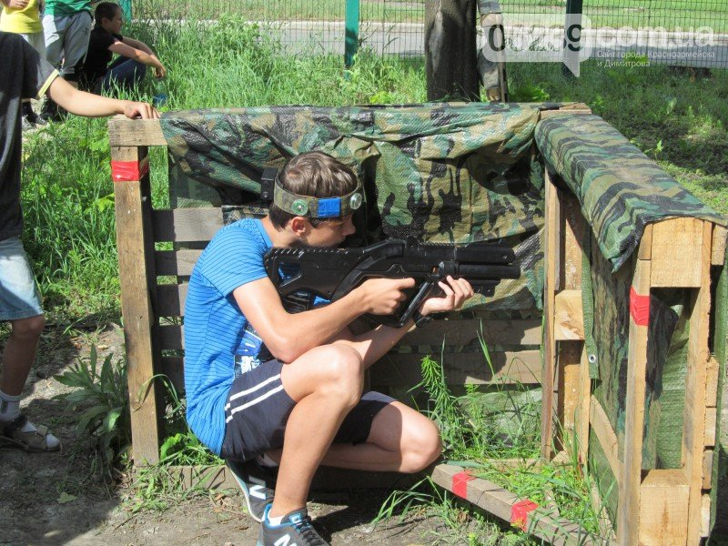 Второй детский турнир по увлекательному Лазертагу в Красноармейске, фото-3