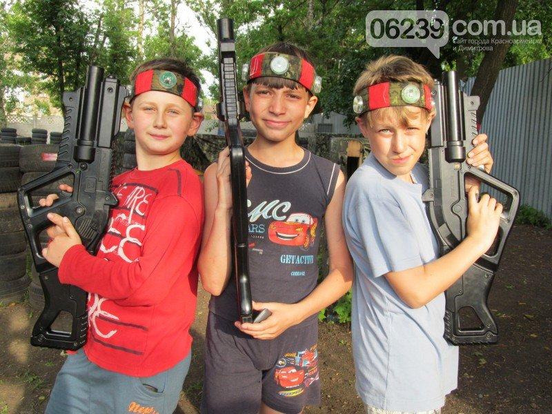 Второй детский турнир по увлекательному Лазертагу в Красноармейске, фото-12