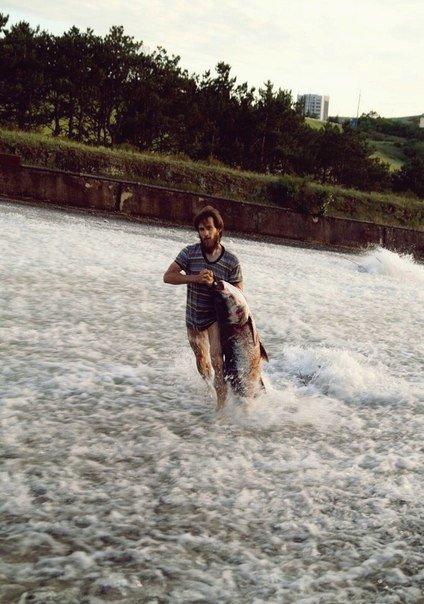 В Салгире начали ловить крупную рыбу и сплавляться по реке на матрасах (ФОТОФАКТ) (фото) - фото 7