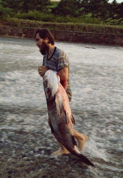 В Салгире начали ловить крупную рыбу и сплавляться по реке на матрасах (ФОТОФАКТ) (фото) - фото 8