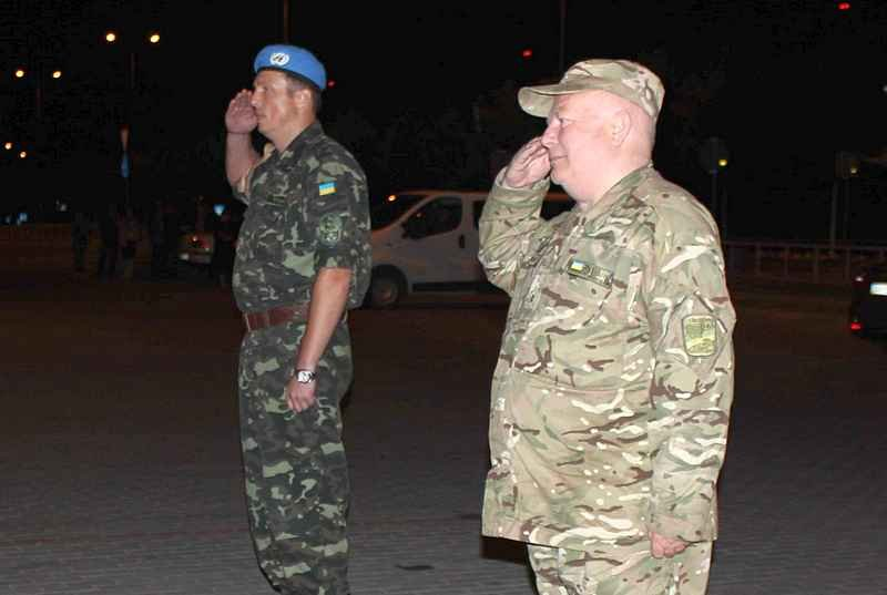 До Львова прибуло 175 миротворців з Африки (ФОТО) (фото) - фото 1