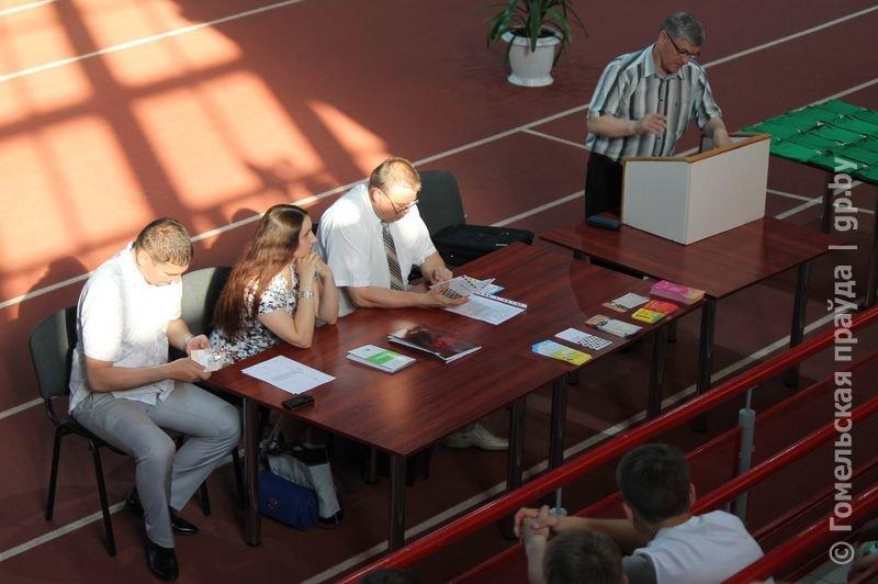В гомельском Дворце легкой атлетики прошла акция «Стоп допинг» (фото) - фото 4