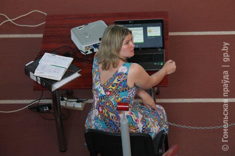 В гомельском Дворце легкой атлетики прошла акция «Стоп допинг» (фото) - фото 5