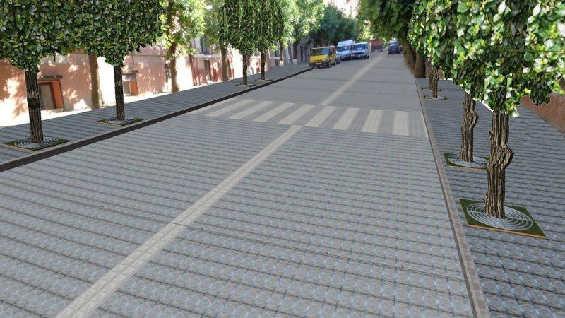 Чернівчанам показали, як виглядатиме вулиця Богдана Хмельницького після ремонту, фото-1