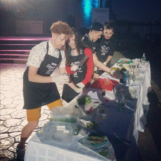 В Днепропетровске прошло гастрономическое live-show Borjomi Open Kithcen by Geometria (фото) - фото 1