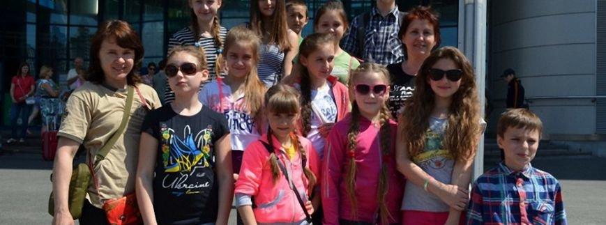 При поддержке Фонда Вилкула 40 детей из Донецкой и Луганской областей ориентированы на реабилитацию в Литву, фото-1