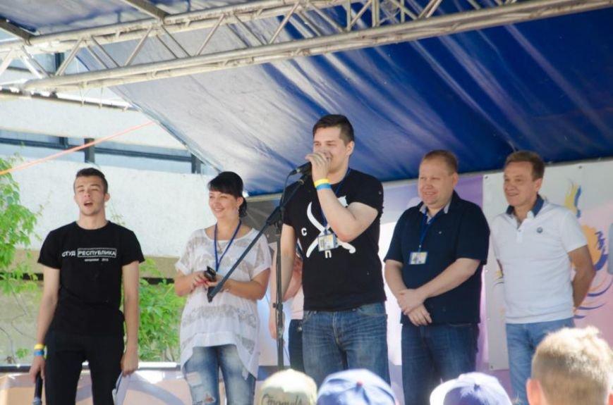 В Запорожье выбрали студенческого мэра (ФОТО) (фото) - фото 1