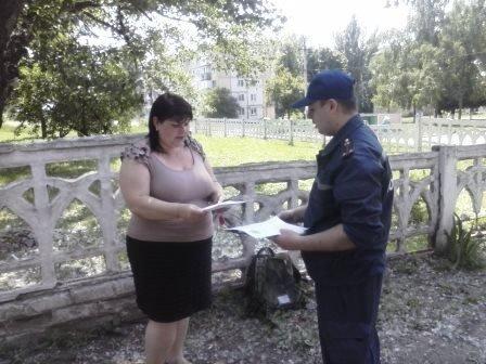 Павлоградские спасатели пытаются донести плавила пожарной безопасности до каждого (фото) - фото 1