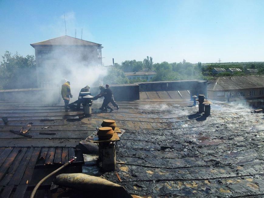 В Запорожской области сгорел магазин бытовой техники (ФОТО) (фото) - фото 1