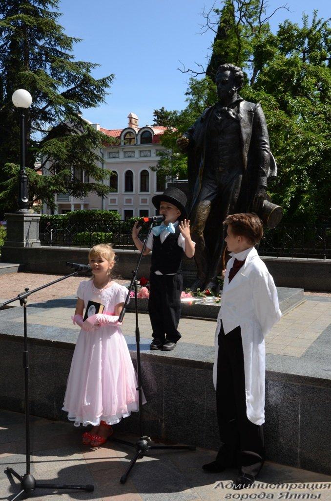 В рамках «Великого русского слова» в Ялте отметили день рождения Александра Пушкина (фото) - фото 1