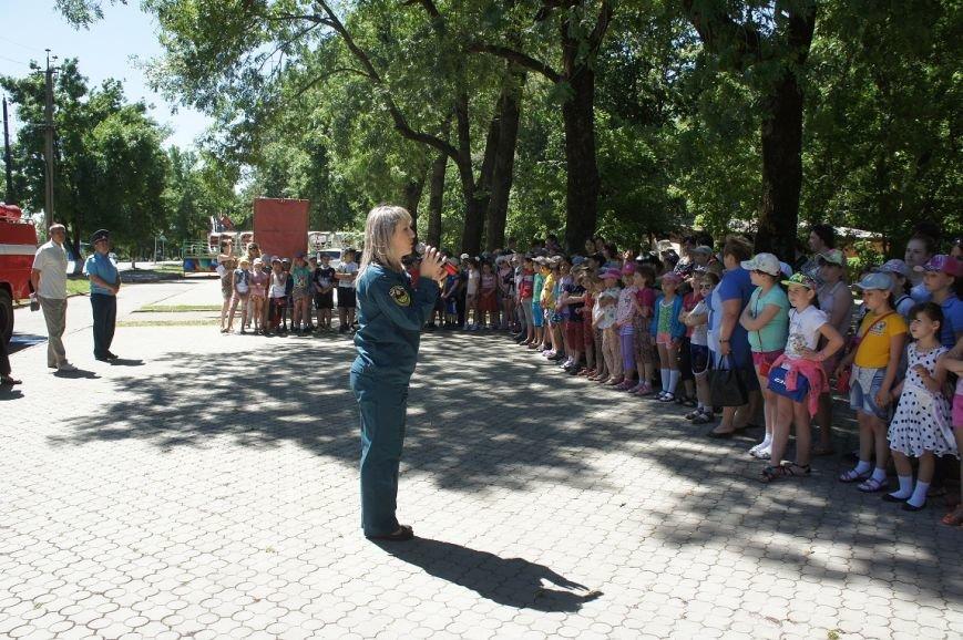 В городском парке прошла акция «МЧС - за безопасное детство!» (фото) - фото 1