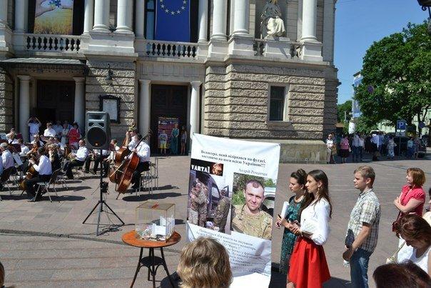 У Львові збирають гроші для бійця, який підірвався на фугасі у Луганській області (ФОТО), фото-5