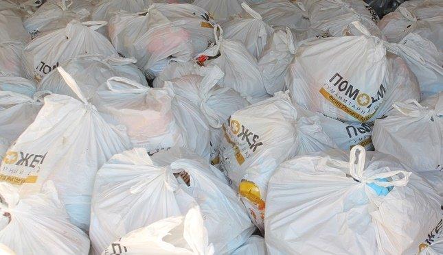 Жители Краснодона получат от Гуманитарного штаба Ахметова более 5000 продуктовых наборов, фото-1