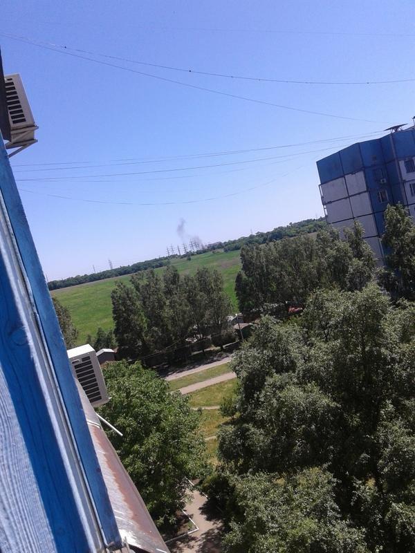 В Донецке прозвучал взрыв. Виден дым (ФОТО) (фото) - фото 1