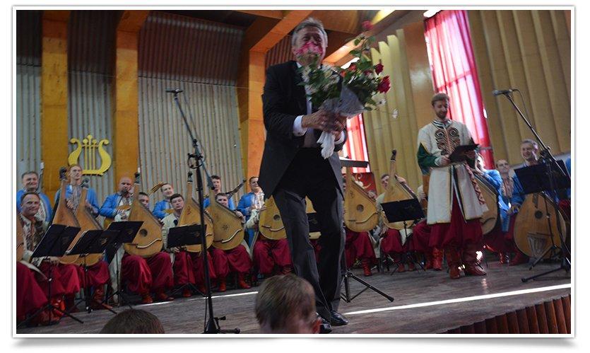 В Славянске выступила Национальная Заслуженная Капелла Бандуристов Украины (видео) (фото) - фото 5