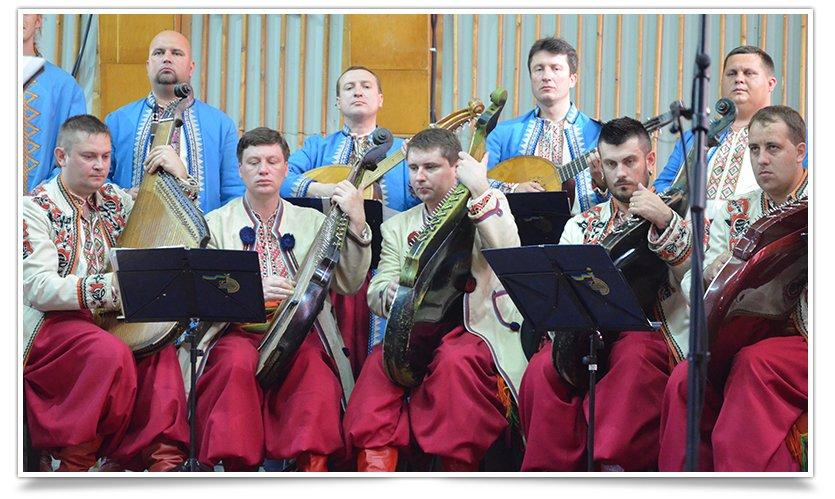 В Славянске выступила Национальная Заслуженная Капелла Бандуристов Украины (видео) (фото) - фото 4