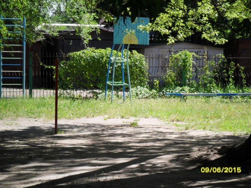 В Кривом Роге в детсаду  на ребенка упала металлическая лестница, фото-1