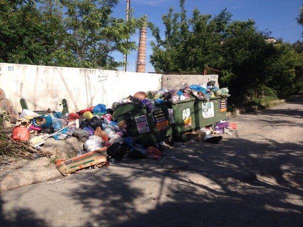 Власти Симферополя не могут определиться, где в городе ставить мусорные баки (ФОТО), фото-3